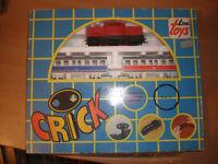 80'S Vintage Greek Toy WIND UP Train LIMA TOYS CRICK MIB 2