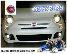 "LAMPADINE H1 PLASMA XENON BIANCO FENDINEBBIA - ""FIAT QUBO"" - NO ERRORS!"