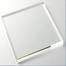 Thick Acrylic Panels, 10mm or 12mm, Black/White/Clear, A4 or A3, Perspex