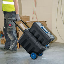 Draper Mobile Contractors Chest and Tool Box Wheels Handle Removable Lockable