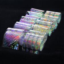 10pcs Flame Water Slide Transfer Sticker Nail Foil Nail Nail Art Supplies