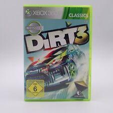 Dirt 3 Microsoft Xbox 360 Classics PAL Spiel Game Gymkhana Rally is Back