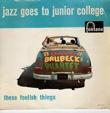 7inch DAVE BRUBECKJazz goes to junior collegeHOLLAND EX  (S2491)