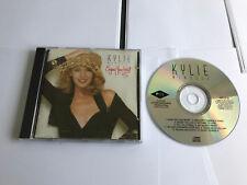 KYLIE MINOGUE - ENJOY YOURSELF 1989 UK CD PWL HFCD9 MATRIX INLAY DISCTRONICS