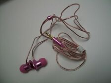 100 Pink Earbuds Headphones for MP3 players & Phones Bulk, Wholesale, 3.5mm jack