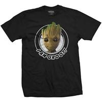 OFFICIAL LICENSED - GUARDIANS OF THE GALAXY 2 - GROOT CIRCULAR T SHIRT MARVEL