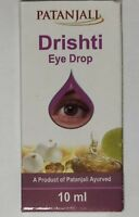 Divya Patanjali Drishti Eye Drops Ayurvedic For Natural Care 10 ML Free Shipping