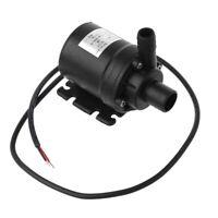 800L/H 5m DC 12V Solar Brushless Motor Water Circulation Submersible Water Pump