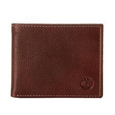 Timberland Men's Leather Sportz Passcase Wallet Brown  D02387-01