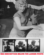 MARILYN MONROE BEAUTY under UMBRELLA 1xRARE5X7 PHOTO
