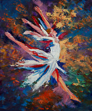 Freedom Ballet American Dancer Music LIMITED EDITION PRINT on CANVAS Yary Dluhos