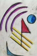 Gemälde modernes Muster Abstrakte Kunst Papier A4  contemporary art
