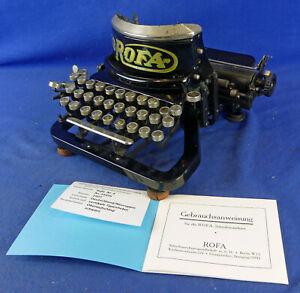 Rofa Modell 4 - Schreibmaschine - typewriter - Samml. Eisel - 3001