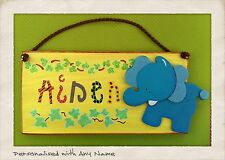 Children's Handmade Custom Made Decorative Plaques & Signs