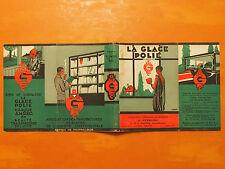 Hergé-La Glace Polie Marque-Jaquette Liseuse- AMCEC Bruxelles 1930