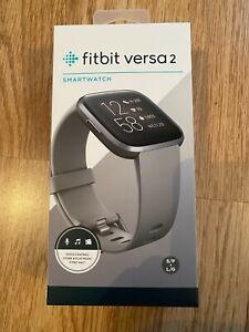 Fitbit Versa 2 Activity Tracker - Stone/Mist Grey