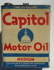 Atlantic+Refining+Co.+Philadelphia+PA+Capitol+Motor+Oil+Medium+Two+Gallon+can