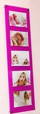 """Cheshire Acrylic magnetic multi easy change 5 x 7 """"/7 x 5 """" picture photo frame"""