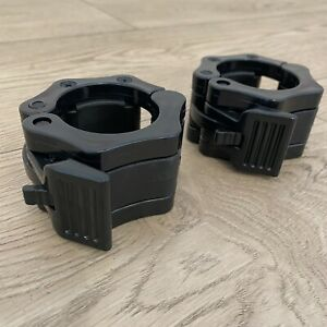 BLITZ FITNESS QUICK RELEASE BARBELL COLLARS **NEW**