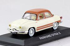 Panhard Dyna Z beige-braun 1:43 Atlas Modellauto