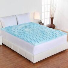 """Queen Gel 2"""" Orthopedic Foam Mattress Topper Comfort Rx Pressure Relieving Sleep"""