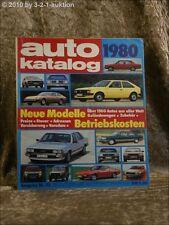 Auto Katalog Autokatalog AMS 1980 Ausgabe Nr. 23