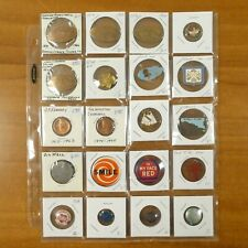 Political Curling Casino Community Chest Smile Mix Pin Pinback Button Lot of 20