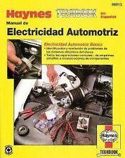 Manual de Electricidad Automotriz  Haynes 98913 Repair Manual Haynes en Español