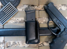 Gen 2 Leather Magazine Holder, Fits Sig P239 Mags, for 9mm or .40 Magazines