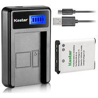 Kastar Battery LCD Charger for Nikon EN-EL19 & Nikon Coolpix S3700 Coolpix S4100