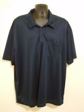 Port Authority Men's 4XL Dark Blue Polo/Golf Shirt   B55