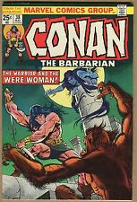 Conan The Barbarian #38 - Warrior And The Ware-Woman! - 1974 (Grade 6.0) WH