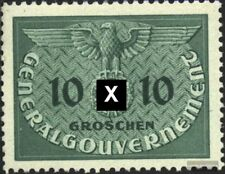 Generalgouvernement D3 gestempelt 1940 Adler