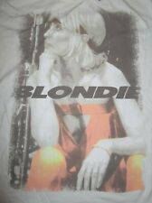 Retro American New Wave - Punk Blondie (2Xl) T-Shirt Tags Heart Of Glass Call Me