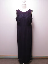 C-062 STUNNING GORGEOUS EMBROIDERED EVENING DRESS ~~MR K ~$499.00 Size 14 AS NEW
