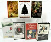 Lot of 7 Assorted Christmas Music Cassettes -Glenn Miller, Perry Como