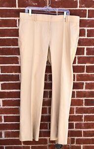 Ann Taylor - Woman's Size 14 Khaki Linen/Cotton Trouser Waist Slacks $98.00 (62)
