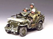 """KING & COUNTRY BBAO84 WWII """"THE WINTER JEEP""""  BATTLE OF THE BULGE  DEC.1944 MIB!"""