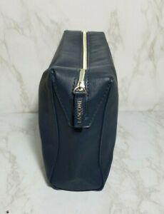 20 X LANCOME FAUX LEATHER  NAVY BLUE MAKEUP PURSE BAG CLUTCH 9*6*3 INCH