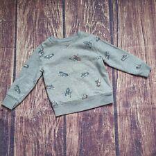 Old Navy sweatshirt with sneaker print sz 2T
