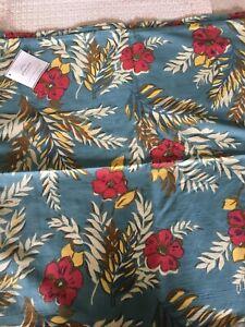 Pottery Barn 20 x 20 Hawaiian Reversible Pillow Cover Gorgeous!!