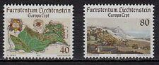 36F** Lot x2 Timbres Liechtenchtein (CEPT EUROPA 1977) Neuf**MNH