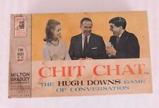 Vintage Milton Bradley Chit Chat The Hugh Downs Game #4315 from 1963
