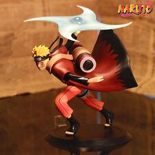 """1X Naruto Shippuden Uzumaki Naruto 15cm/6"""" Anime PVC Figure Statue NO Box"""