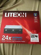 New listing New Lite-On iHas324-98 Internal Sata 24x Dvd/Cd Writer Drive