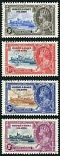 Gilbert and Ellice SG36/39 1935 Silver Jubilee Set Used