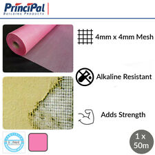 Rendering Mesh | Fibreglass Mesh | Render mesh | 160g/m² | Pink Mesh | 1 x 50m