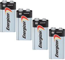 4 Energizer Max 9V 9 Volt Alkaline Battery 522 1604