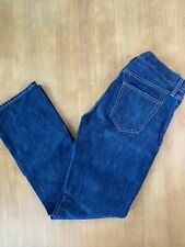 Men's Old Navy Boot Cut Blue Jeans Dark Wash No Distressing Size 30/32