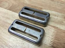 TOG RELIC AGED GRETSCH FILTERTRON PICKUP COVER NICKEL 2 PACK